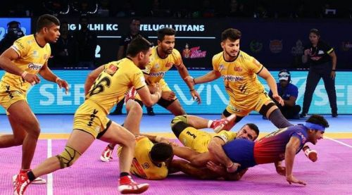 Telugu Titans will try their best to win this season