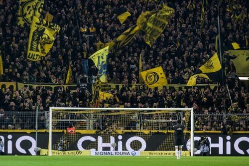 Borussia Dortmund have led the Bundesliga right from the start under the new management of Lucien Favre