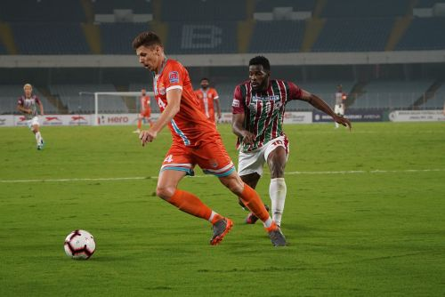 Chennai City FC rallied back in the second half to secure a point
