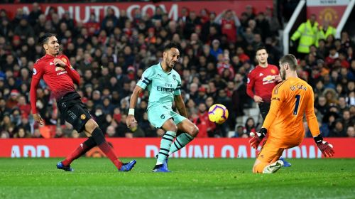 Manchester United hosted Arsenal at Old Trafford.