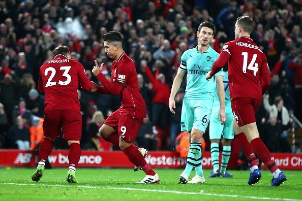 Liverpool destroyed Arsenal at Anfield - Premier League