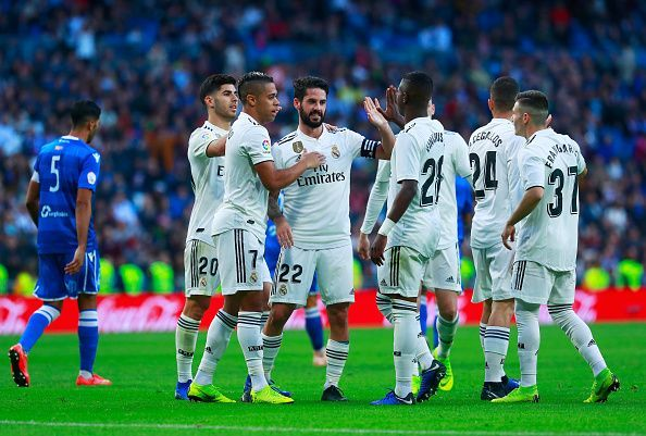 c1a989107 Real Madrid will be looking to make it 4 wins in a row against the newly