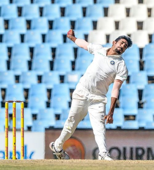 Bumrah played an important part for India in the Johannesburg Test