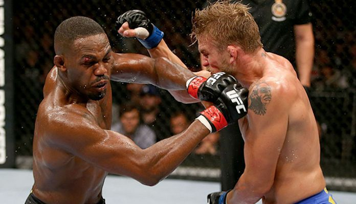 Jones and Gustafsson first went to war in 2013
