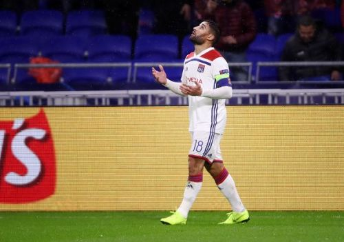 Olympique Lyonnais' Nabil Feki- UEFA Champions League