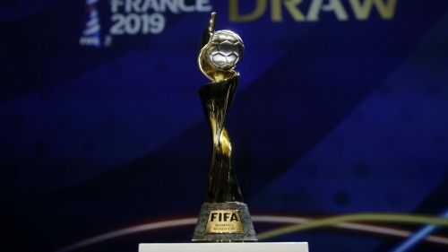 Womens World Cup trophy - cropped