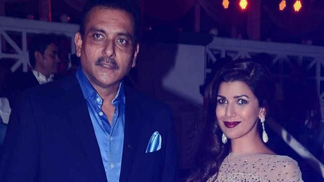 Ravi Shastri Dating controversy