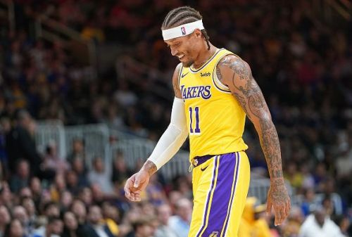 Michael Beasley has struggled for minutes in Los Angeles Lakers