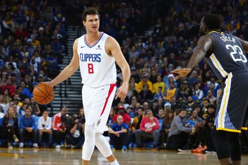 Danilo Gallinari posted an efficient double-double in the loss Credit: USA Today