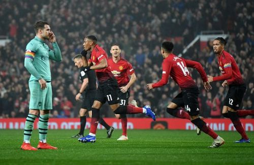 Martial, who turned 23 today scored United's equalizer moments after they had gone down. The youngster is United's biggest goal threat this season, having scored 7 goals in 12 league appearances.