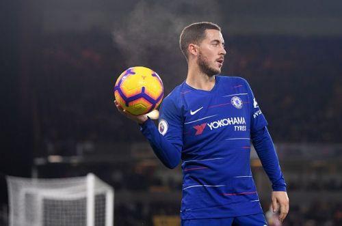 Hazard is on Madrid's radar