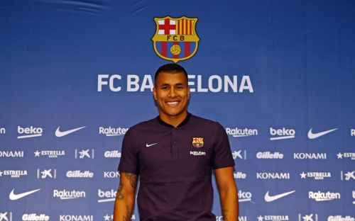Murillo at Camp Nou