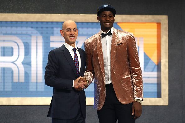 Jackson Jr. was the fourth pick of the draft