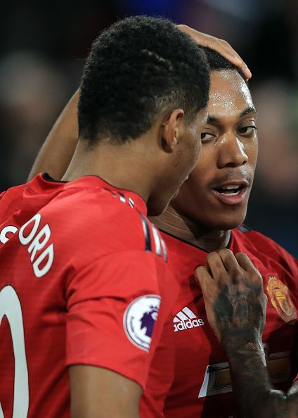 Martial and Rashford were brilliant for Manchester United