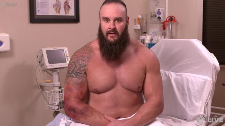 Looks like Strowman is all set for a comeback