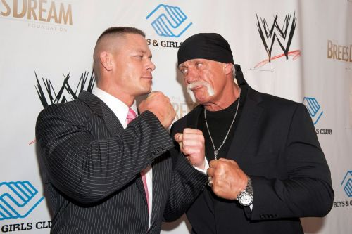 Cena and Hogan are two of the successful and popular WWE superstars of all time
