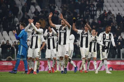 Juventus posted their 16th league win of the season