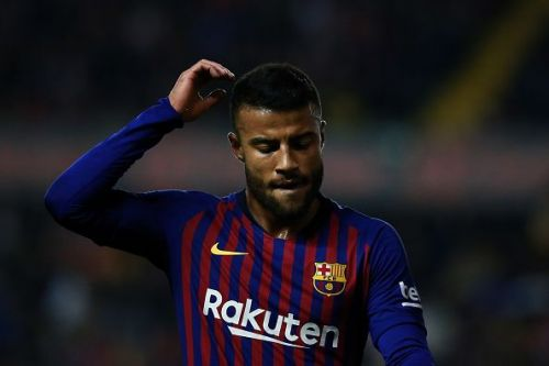 Rafinha is currently out of action due to injury