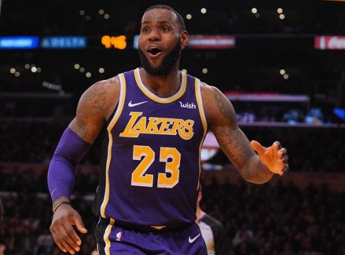 LeBron' has quickly transformed the Los Angeles Lakers into playoff contenders