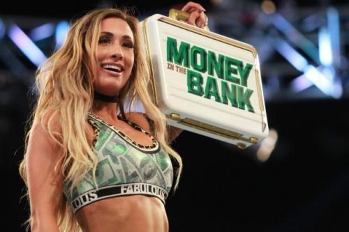 Carmella cashed in her Money in the Bank contract to become Women's Champion