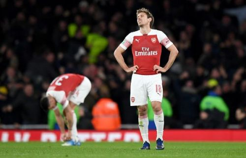 Arsenal have now lost two consecutive matches