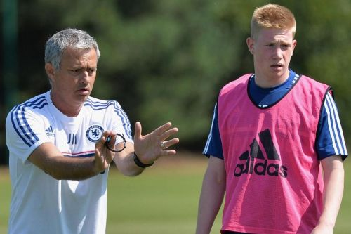 De Bruyne left Chelsea after failing to get opportunities under Mourinho