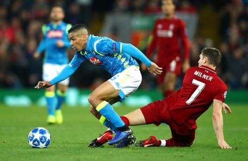 Milner and Co. constantly harried the Napoli midfield into mistakes