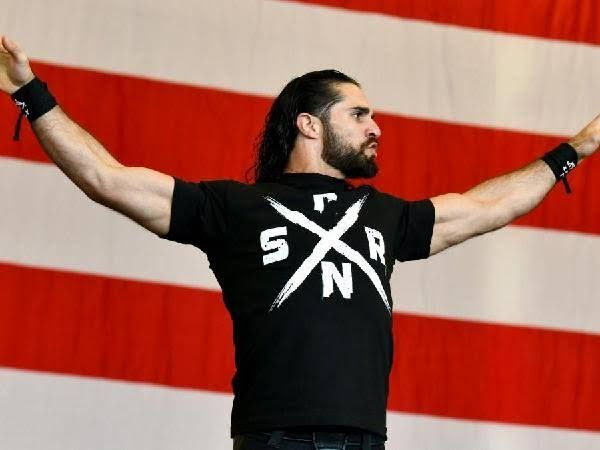 Seth Rollins winning the Royal Rumble match is
