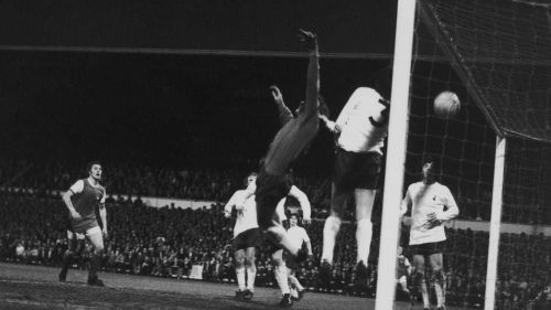 Arsenal won the league at White Hart Lane in 1971 - the first part of their famous Double that year