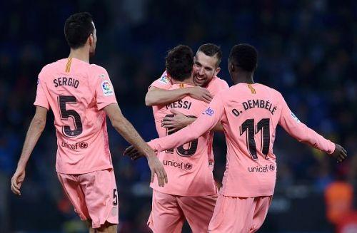 A brilliant all-round performance by La Blaugrana saw them winning 4-0 at the Cornella.