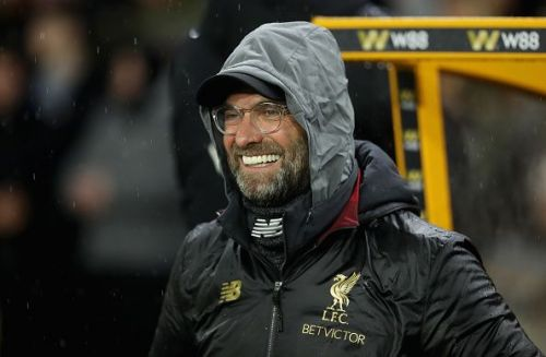 Klopp should have another beaming smile on Wednesday