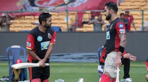 Virat Kohli and Parthiv Patel