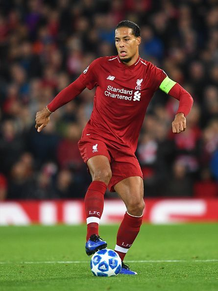 Van Dijk has been impressive at the heart of defence