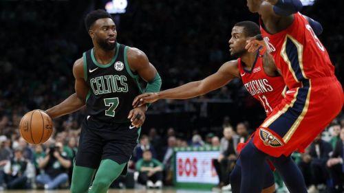 Jaylen Brown came up big for the Celtics
