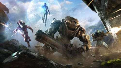 Anthem's story and other details were reveled at the game awards