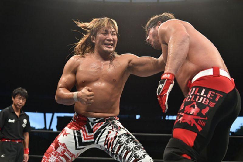 Hiroshi Tanahashi faces AJ Styles
