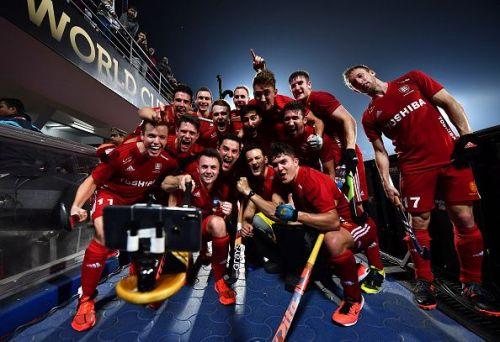 Argentina v England - FIH Men's Hockey World Cup: Quarter Final