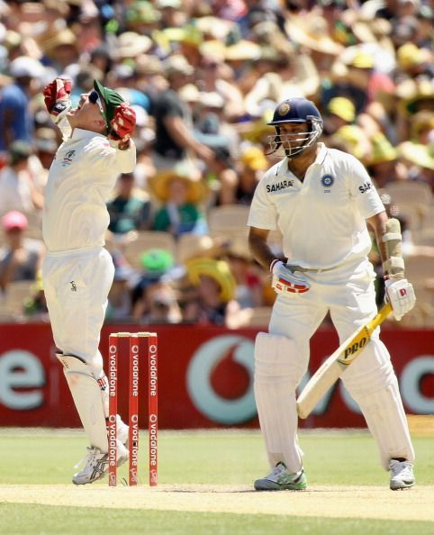 Laxman was a magician with the bat