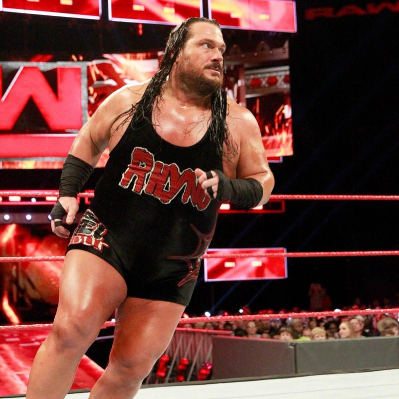 Rhyno was fired recently