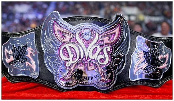The Infamous WWE Divas Championship Belt