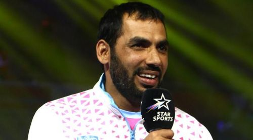 Anup Kumar during his retirement announcement