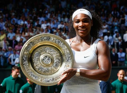 Serena Williams - a seven-time winner at the All England Club