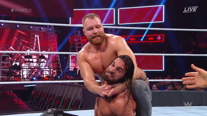 Seth Rollins defended his IC title against Dean Ambrose