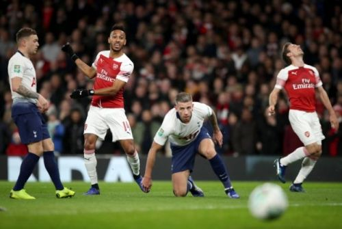 Aubameyang struggled, yet again, to impose much impact on the match