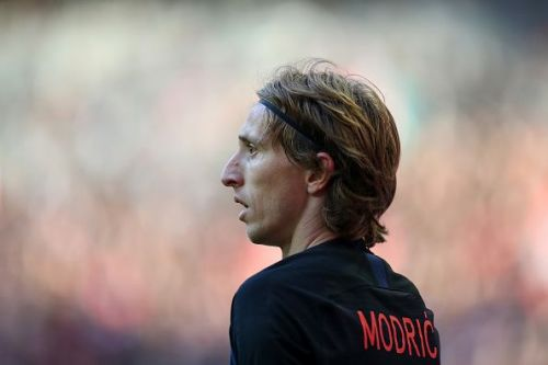 Luka Modric covered every blade of grass while running riot against opponents