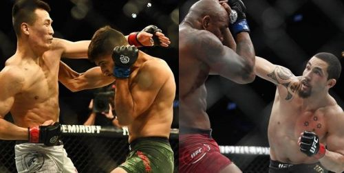 These UFC fights were the craziest of the 2018 calendar year