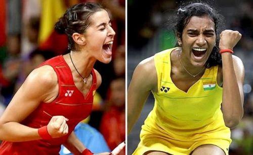PV Sindhu beat Carolina Marin