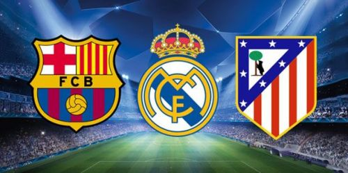 Barcelona, Real Madrid, and Atletico Madrid are currently the strongest three teams in Spain
