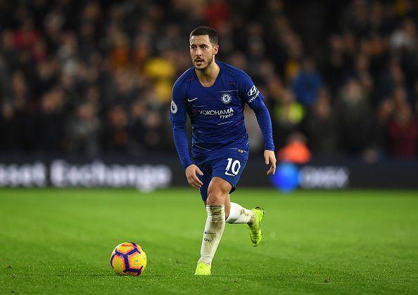 Hazard inspired Chelsea