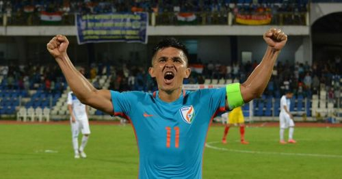 Sunil Chhetri is India's eldest player in the squad.